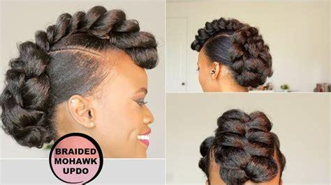 Best 25+ Natural Hair Mohawk Ideas On Pinterest
