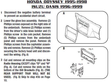 Wiring Diagram 1999 Honda Odyssey Radio by Honda Odyssey 7 Pin Wiring Harness 2017 Ototrends Net