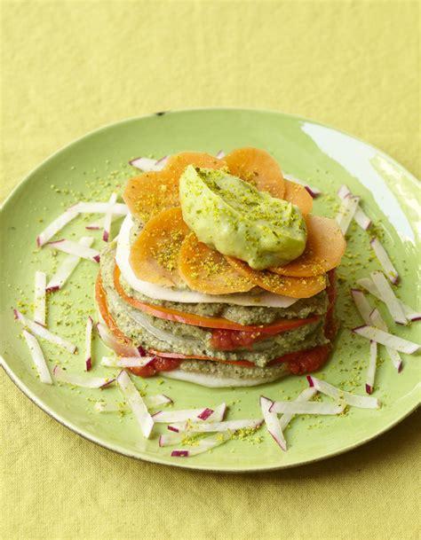 cuisine crue lasagne crue de légumes pour 6 personnes recettes à