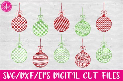 Christmas Ornament Svg Files  – 64+ SVG File for Silhouette
