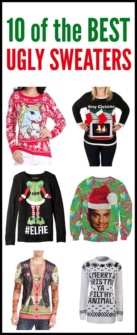 ugly sweaters funny sweater tighten tone christmas party gym