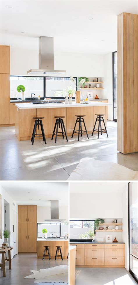 woodwork designs for kitchen the 5th residence by electric bowery contemporist 1653