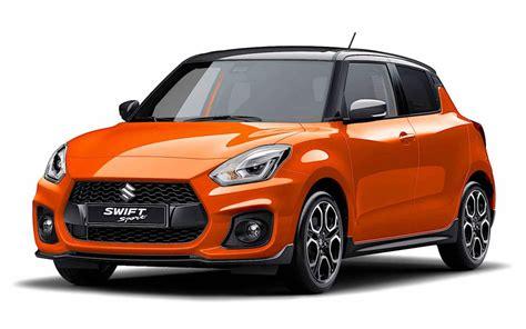 The new swift sport offers optional dual sensor brake support (dsbs) and standard radar brake support (rbs). El Suzuki Swift Sport se pone al día