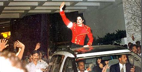 rare pictures  michael jackson visited india jfw