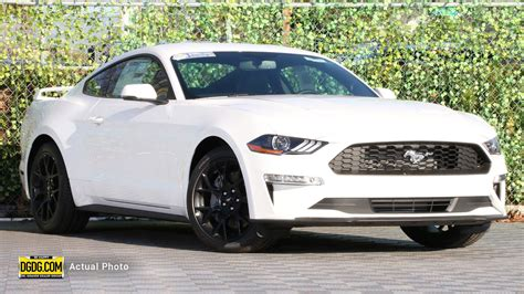 Ford Mustang Ecoboost Mpg by New 2019 Ford Mustang Ecoboost Premium 2d Coupe In San