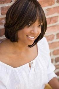 Chic Short Haircuts for Black Women | Asymmetric bob, Bob ...