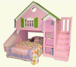 Dollhouse Loft Bed - Custom Designed by Tanglewood