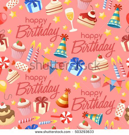 set colorful birthday candles vector illustration stock