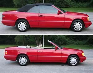 Mercedes W124 Cabriolet : mercedes w124 e320 300ce black oem german convertible top 1992 1995 ebay ~ Maxctalentgroup.com Avis de Voitures