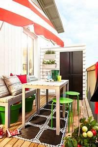 Ikea Table Balcon : ikea balcon meuble pas cher c t ~ Teatrodelosmanantiales.com Idées de Décoration