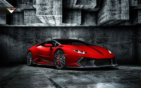 City At Night Wallpaper Lamborghini Huracan Red In Grey Hd Wallpapers Free Wallpapers Desktop Backgrounds