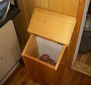 Free Potato Bin Plans - How to Make A Vegetable Storage Bin
