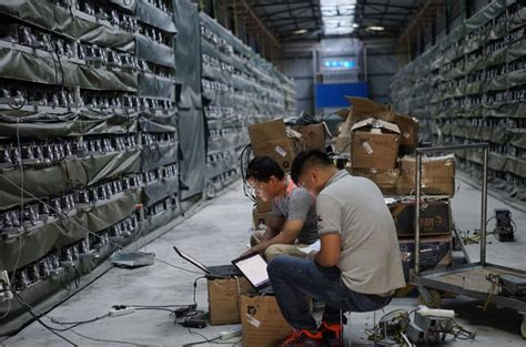 This is the only way that new bitcoin can be created! Bitcoin Mining in China: Only Big Guns Will Survive ...