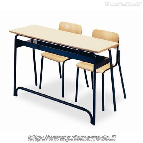banchi scuola usati banco biposto con poggiapiede anteriore altezza 64 71 76 82