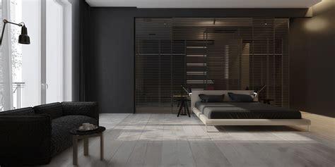 birchwood flooring an open floorplan highlights a minimalist design