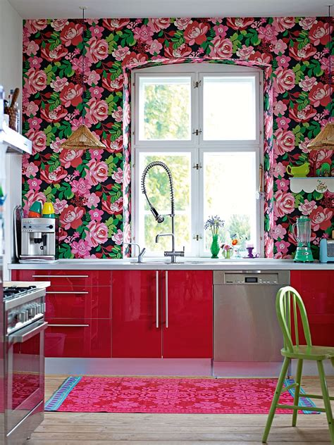 wallpaper kitchen ideas kitchen wallpaper ideas wall decor that sticks