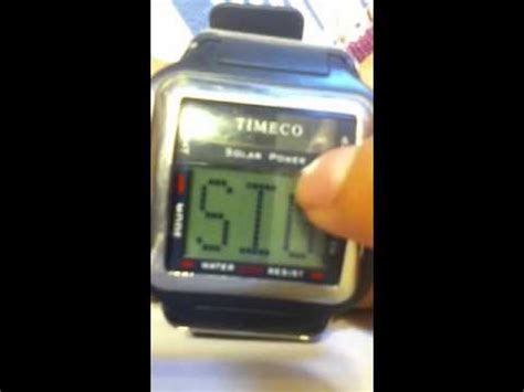 timeco watch - YouTube