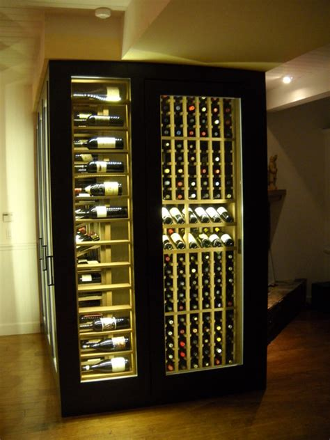 wine cabinet display led lighting traditional dining