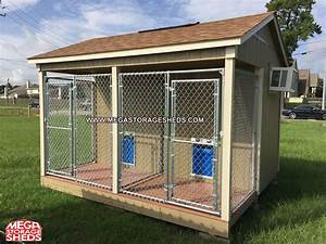 Dog kennel garden shed garden ftempo for Dog sheds for sale
