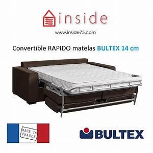 Canapé Lit Bultex : canap lit avec matelas bultex ~ Teatrodelosmanantiales.com Idées de Décoration