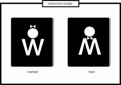 Washroom Signages Signage Toilet Clipart Clip Sign