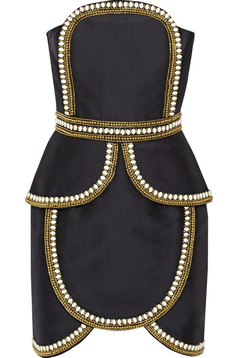 sass bide lyst sass bide the cold snap embellished cotton and