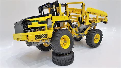 lego technic 42030 lego technic 42030 b model articulated hauler review offroad trial mods