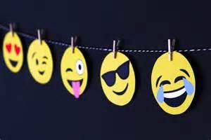 Emoji Birthday Party Banner