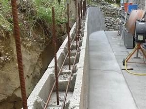 Fondation Mur Parpaing : fondation et mur ~ Premium-room.com Idées de Décoration