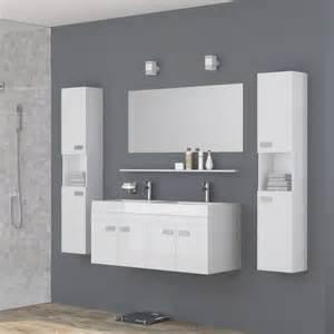 alpos salle de bain compl 232 te vasque 120 cm laqu 233