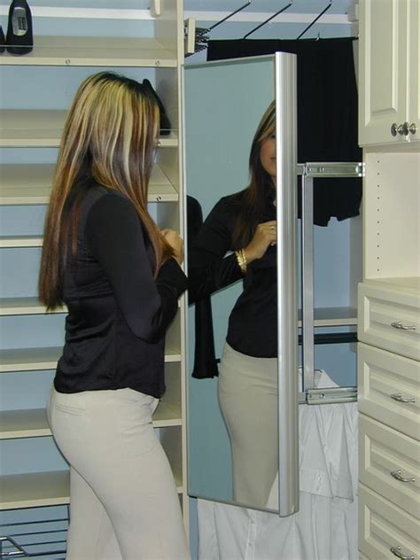 pull out mirror closet houston by spaceman home office