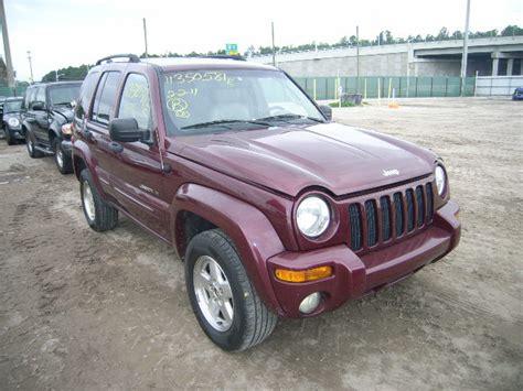 maroon jeep liberty 2002 jeep liberty maroon in cotonou parc sekandji 1 75