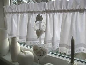 Gardinen Küche Landhausstil : 1000 ideen zu scheibengardine auf pinterest shabby chic ~ Michelbontemps.com Haus und Dekorationen