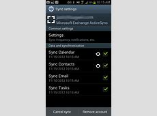 Troubleshoot Contacts and Calendar sync between Android