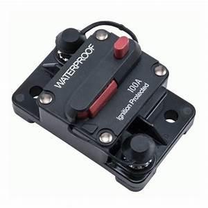 Install Bay Waterproof Circuit Breaker  100 Amp