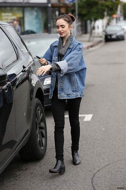Lily Collins Casual Lilycollins Outfits
