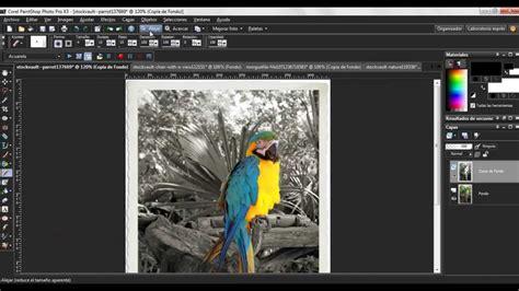 paint shop pro efecto foto antigua con detalle de color
