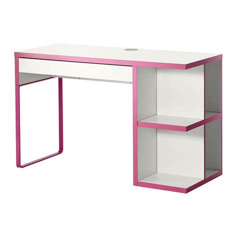 bureau en l ikea micke bureau avec rangement intégré blanc ikea
