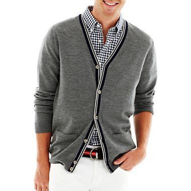 jcpenney mens sweaters jcp merino wool cardigan jcpenney cardigans and