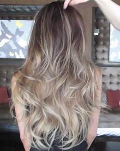 Balayage Ombré Blond : ash blonde ombre balayage by guy tang hairs balayage ~ Carolinahurricanesstore.com Idées de Décoration