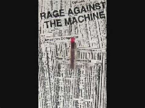 Rage Against the Machine ~ Darkness of Greed (Demo) - YouTube