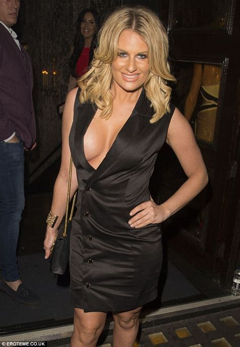 towies danielle armstrong suffers embarrassing nip slip