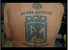 Tatuajes Los Del Sur y Atl Nacional3 YouTube