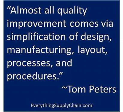Manufacturing Quotes Chain Supply Logistics Motivational Leadership