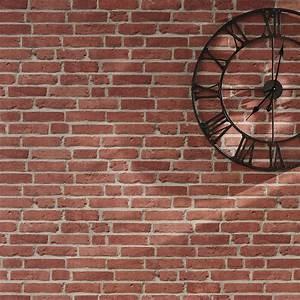 Mur Effet Brique : best 25 papier peint effet brique ideas on pinterest papier peint effet bois chambre papier ~ Melissatoandfro.com Idées de Décoration