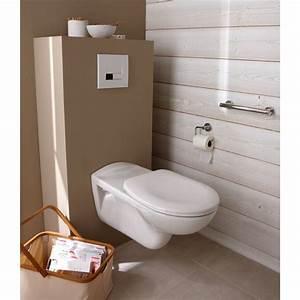 Meuble Pour Toilette Suspendu