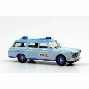 Peugeot 404 Vittel Bleue Eligor E101251 Miniatures Minichamps