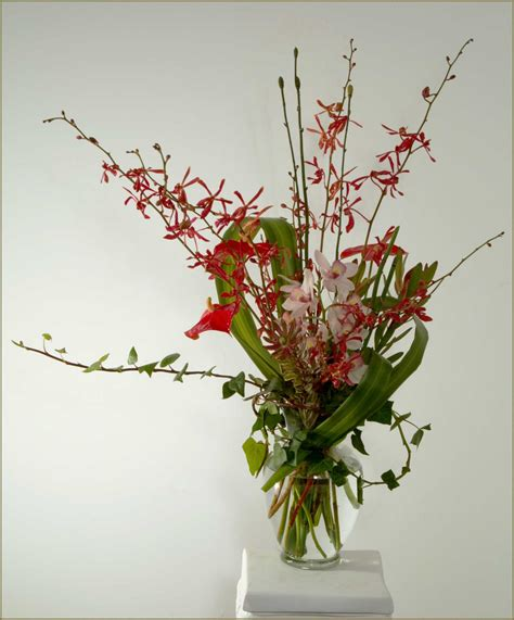 floral arrangements orchid basket arrangements tropicals yukiko s floral design