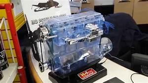 Plastic Model Of A 4-cylinder Engine