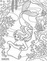 Mermaid Coloring Printable Mermaids Ayelet Keshet Map Ayeletkeshet Kitchen Fantastic Sirens Colouring Barbie Sheets Sample2 Snow Sheet Pdf Coloringages Adult sketch template
